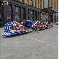 Wholesale Tourist Mini Electric Trackless Train Outdoor Amusement Ride 2.2kw Power from china suppliers