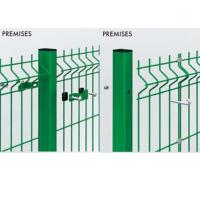 China Customized Welded Mesh Security Fencing , Green Pvc Coated Welded Wire Mesh Fencing on sale