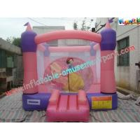 Wholesale Pink Inflatable Bounce Houses , CE / EN14960 Jumping Castle Rentals from china suppliers