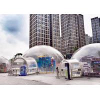 Wholesale Outdoor Single Tunnel Inflatable Bubble Tent Double And Quadruple Sewing from china suppliers