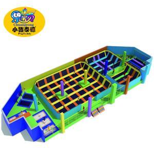 Wholesale High Grade Kids Indoor Trampoline , Childrens Indoor Big Jump Trampoline from china suppliers