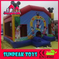 Wholesale COM-174 Commercial Chirld Mickey Mouse Inflatable Bouncer from china suppliers