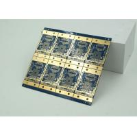 Wholesale 6 Layer High Frequency, Material HDI PCB Blue Solder Mask  BGA from china suppliers