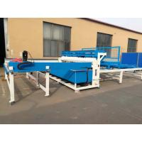 China Semi Automatic Welded Fence Wire Mesh Welding Machine For European Fence on sale