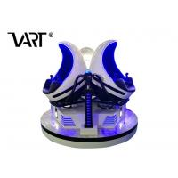 Buy cheap 360 Degree Rotating 1 Seat / 2 Seats / 3 Seats 9D VR Cinema Full Automatic from wholesalers