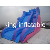 Wholesale Outdoor Durable Inflatable Dry Slide With Simple But General For Amusement Park from china suppliers