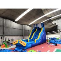 China Large Commercial Blow Up Water Slide  For Pool Customized Design on sale