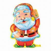 Wholesale Santa Claus Christmas Balloon, Made of PA and PE Materials, Used in Parties or Advertisements from china suppliers
