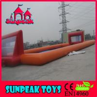 Wholesale F-017 Custom Size And Design Inflatable Football Field from china suppliers