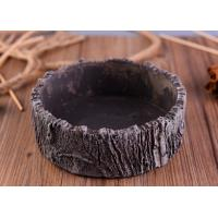 Quality Parties Material concrete cement candle holder round moss effect for sale
