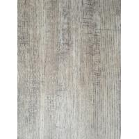 Quality Oak Design Wood Grain Sticker Paper Veneer Nature Texture , Grey Melamine Wood Grain Sticker Paper for sale