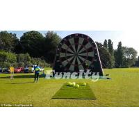 Wholesale 3M / 5M Attractive Inflatable Sport Games Football Dart 0.55mm PVC Tarpaulin from china suppliers