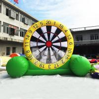 China Indoor Playground Inflatable Dart Board , Inflatable Garden Toys For Toddlers on sale