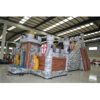 Wholesale Digital Printing Inflatable Jumping Castle / Blow Up Guard Themed Fun City from china suppliers