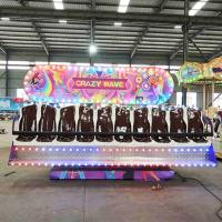Wholesale Crazy Wave Ride Double Side Seats Customized Decoration Height 3-3.3m from china suppliers