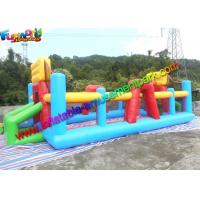 Three In One Inflatable Sports Games Volleyball Court Inflatable Football Field