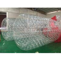 Amusement And Outdoor Water Moving Ball , Inflatable Water Roller