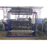 Hinge Joint Galvanized Wire Mesh Weaving Machine 1.8 - 2.5mm Wire Diameter