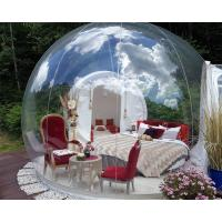 Wholesale Transparent Outdoor Inflatable Bubble Tent For Camping Digital Printing from china suppliers