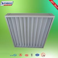 Quality HVAC Pleated Panel Synthetic Fiber Air Filter Pre Filter For Ventilation System for sale