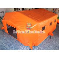 China Commercial Inflatable Medical Tent Convenient Open For Field Treatment on sale