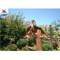 Buy cheap Outside Realistic Garden Animals , Pterosaur Life Size Outdoor Statues Display from wholesalers