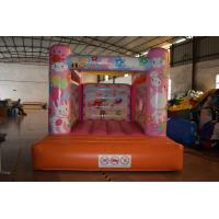 Wholesale Cute Rabbit Inflatable Jump House 3x4m / Kids Small Bouncy Castle from china suppliers
