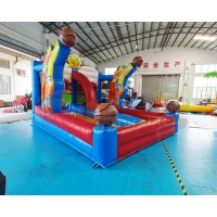 Wholesale Shooting Games Basket Ball Toss Races Inflatable Basketball Goals from china suppliers