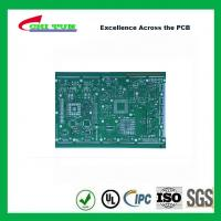 Quality Single Layer PCB Design Bare FR4 1.6MM HASL PCB Green Solder Mask for sale