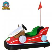 China Inflatable Indoor Mini Bumper Cars Friendly Colorful Light Around The Car on sale