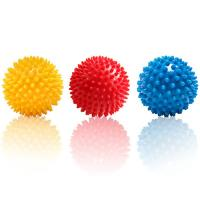Wholesale Fitness Mad Spiky Massage Ball Trigger Point Sport Fitness Hand Foot Pain Relief from china suppliers