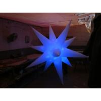 Wholesale Inflatable Air Star and 16 Colors LED Light for Party Decoration from china suppliers