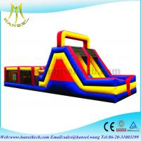 Wholesale Hansel inflatable bouncer adult inflatable obstacle course for sale from china suppliers