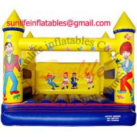 Wholesale inflatable 0.55mm pvc tarpaulin jumping castle BO058 from china suppliers