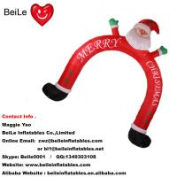 Wholesale Hot commercial beautiful outdoor christmas man arch for decoration from china suppliers