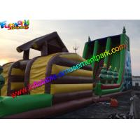 Wholesale Hot Jungle Zip Line Commercial Inflatable Slide 18m x 6m x 9m Size from china suppliers