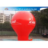 Wholesale Pormotion Activity Red Inflatable Montgolfier Hot Air Floor Balloon from china suppliers