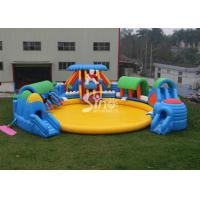 Wholesale Custom Design Giant Inflatable Water Park Above Ground With Big Pool For Kids N Adults from china suppliers
