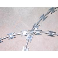 China Cbt- 65 Razor Barbed Wire Hot Dipped Galvanized Stainless Steel High Security on sale