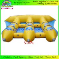 Wholesale Good Price 0.9mm PVC Tarpaulin 6 Person Inflatable Fly Fish Boat/Flying Fishing Boat from china suppliers