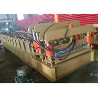 Wholesale Trapezoid Roof Tile Roll Forming Machine 1100mm Russian Type PPGI Material from china suppliers
