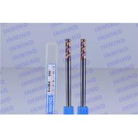 Wholesale SiN Coating Standard Corner Radius End Mill HRC55 0.5 um Grain Size from china suppliers