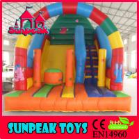 Wholesale SL-209 Outdoor And Indoor Amusement Park Slide Inflatable from china suppliers