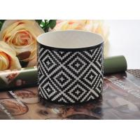 Wholesale Fashion black Ceramic Candle Holder , ceramic candlestick holders from china suppliers