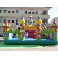 Children Giant Inflatable Theme Park / Outdoor Blow Up Playground