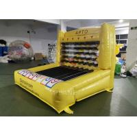 Quality 0.55mm Plato PVC Tarpaulin Inflatable Carvinal Game Rental / Giant Inflatable for sale