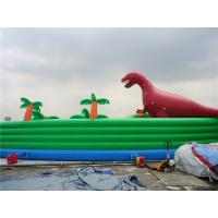 Wholesale Colorful Dinosaur Theme Inflatable Water Parks For Pool And Lake from china suppliers