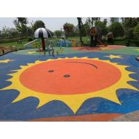 Wholesale Anti Static Playground Rubber Flooring Customized Colors Corrosion Resistant from china suppliers