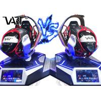 China 4kw Power Attractive Electric Car VR Racing Game Simulator Support Multi Player on sale