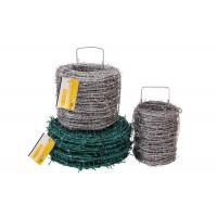 Wholesale Wine Use Continuous Twist Barbed Wire Fence 2.0mm x 1.8mm 15cm , ISO from china suppliers